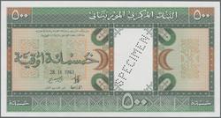 110.550.260: Banknotes – Africa - Mauritania
