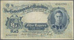 110.550.265: Banknoten - Afrika - Mauritius