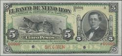 110.560.200: Banknotes – America - Mexico