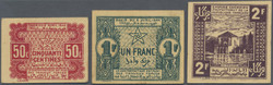 110.550.250: Banknotes – Africa - Morocco