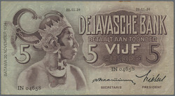 110.570.345: Banknotes – Asia - Netherlands Indies