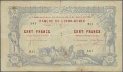 110.580.60: Banknotes – Oceania - New Caledonia