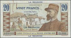 110.550.307: Banknoten - Afrika - Reunion