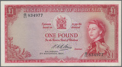 110.550.308: Banknotes – Africa - Rhodesia