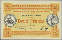 110.550.340: Banknotes – Africa - Senegal