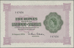 110.550.345: Banknotes – Africa - Seychelles