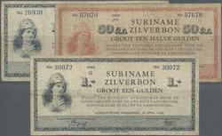 110.560.262: Banknoten - Amerika - Surinam