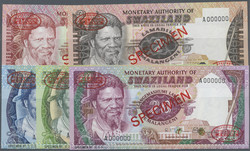110.550.410: Banknotes – Africa - Swaziland