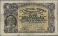 110.430: Banknotes - Switzerland
