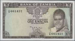 110.550.330: Banknotes – Africa - Zambia