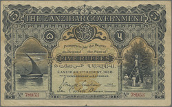 110.550.335: Banknotes – Africa - Zanzibar