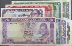 110.550.130: Banknoten - Afrika - Gambia
