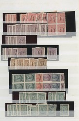 6215: Thrace - Stamps bulk lot