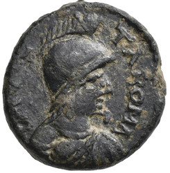 20.10.30.20: Medieval Coins - Migration Period - Ostrogoths - Theodoric, 493 - 526