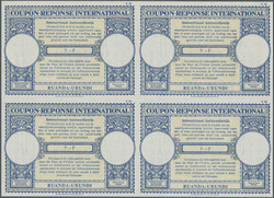 5400: Ruanda Urundi - IRC (reply coupon)