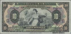 110.560.100: Banknotes – America - Ecuador