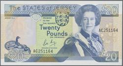 110.210: Banknoten - Jersey