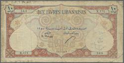 110.570.280: Banknoten - Asien - Libanon