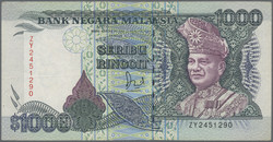 110.570.300: Banknotes – Asia - Malaysia