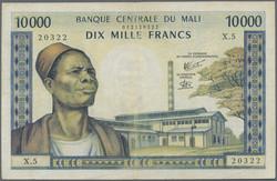 110.550.240: Banknoten - Afrika - Mali