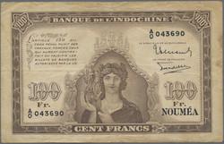 110.580.60: Banknoten - Ozeanien - Neukaledonien