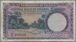 110.550.300: Banknoten - Afrika - Nigeria