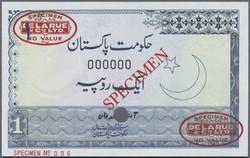 110.570.360: Banknotes – Asia - Pakistan