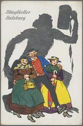 180050: Österreich, Plz 5XXX, Salzburg und westliches Oberösterreich - Postkarten