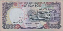 110.570.495: Banknoten - Asien - Vietnam Süd