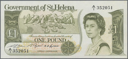 110.550.372: Banknotes – Africa - St. Helena