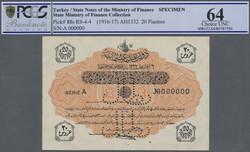 110.570.465: Banknoten - Asien - Türkei