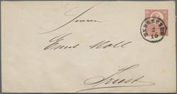 4745415: Austria Cancellations Hungary - Postal stationery