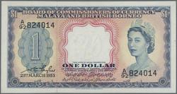 110.570.296: Banknoten - Asien - Malaya & Britisch Borneo