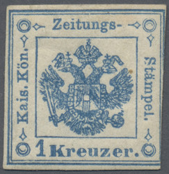 4760: Austria Newspaper Tax Stamps
