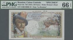 110.550.307: Banknotes – Africa - Reunion