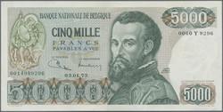 110.40: Banknoten - Belgien