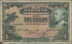 110.570.376: Banknotes – Asia - Sarawak