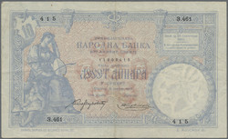 110.440: Banknoten - Serbien