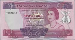110.580.120: Banknoten - Ozeanien - Solomon Inseln