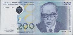 110.50: Banknoten - Bosnien - Herzegowina