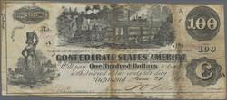 110.560.185: Banknotes – America - Confederate States of America