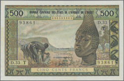 110.550.470: Banknotes – Africa - West African States