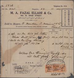 3678: Japan Besetzung II. WK Malaya Gesamt Ausgabe - Verrechnungsmarken