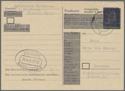 1303010: Amerikanische Zone Notausgaben - Sammlungen