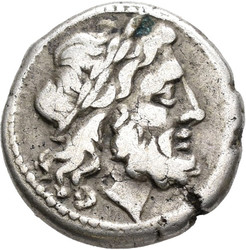 10.25.30: Ancient Coins - Roman Republican Coins - Anonymous, after 211 BC