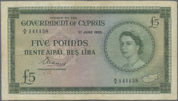 110.540: Banknotes - Cyprus