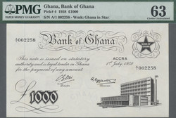 110.550.140: Banknotes – Africa - Ghana