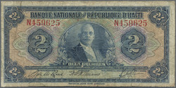 110.560.150: Banknotes – America - Haiti