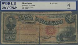 110.560.156: Banknotes – America - Honduras