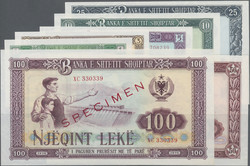 110.10: Banknotes - Albania